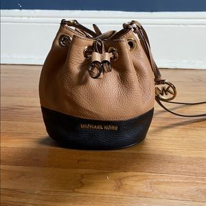 Michael Kors small bucket bag
